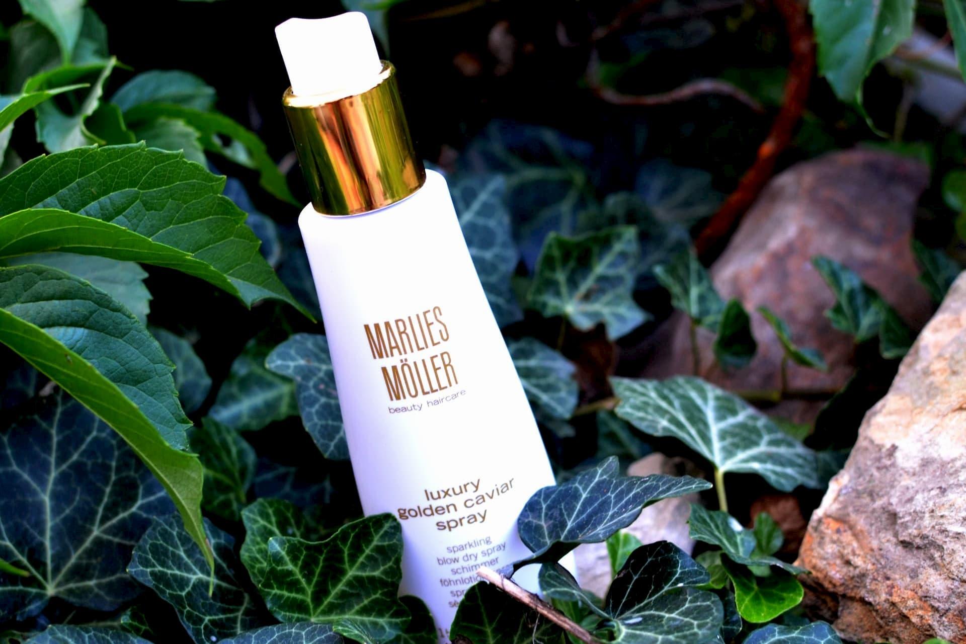 Ваши волосы в хорошей форме? Тогда Marlies Moller Golden Caviar Blow Dry Spray идет к Вам!