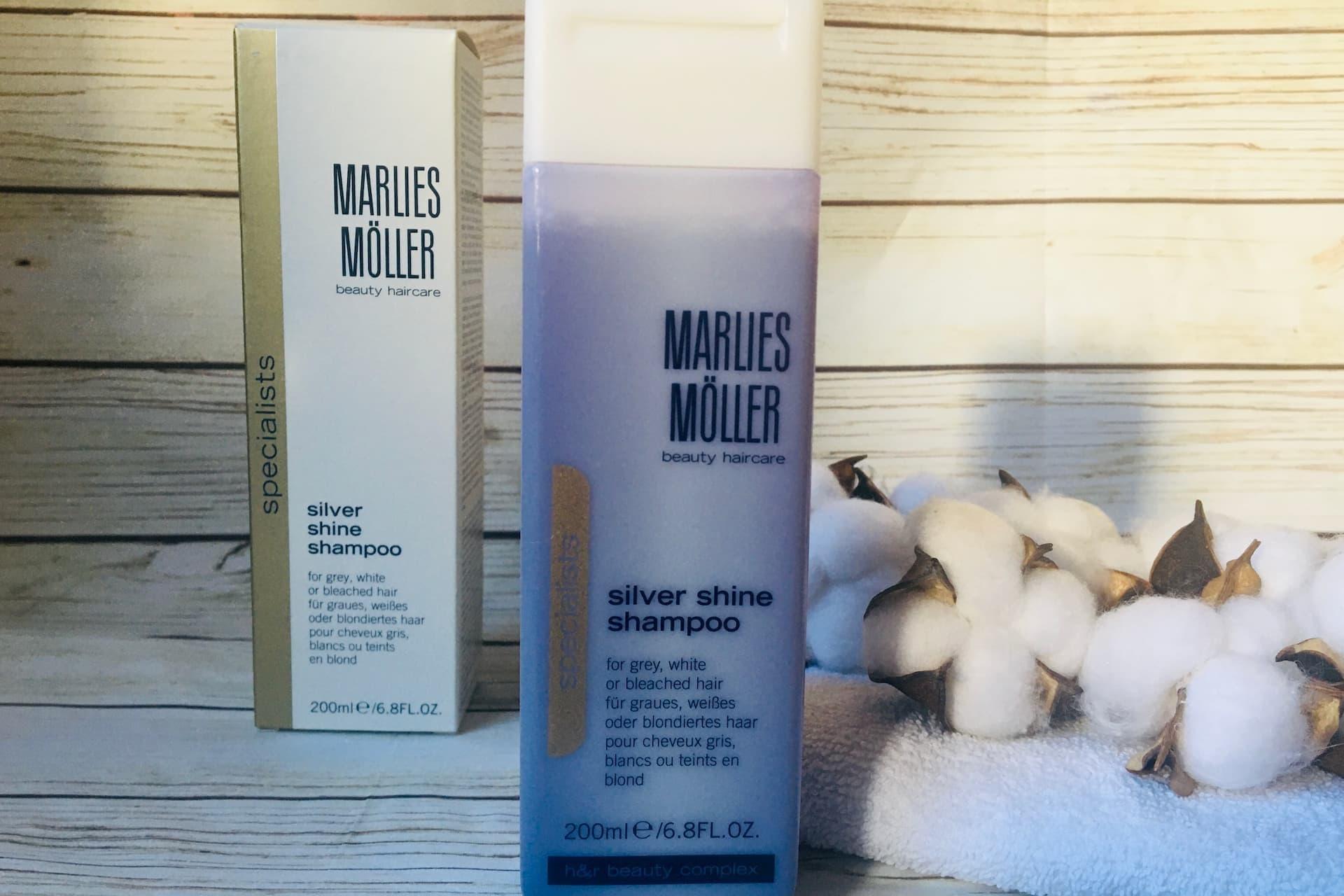 Пепельный блонд можно сохранить шампунь Silver Shine Shampoo от Marlies Moller